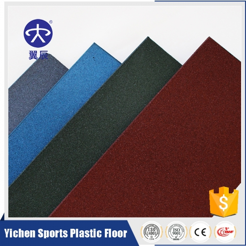 Single color rubber floor/floor tiles/f