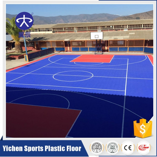 basketball court interlocking (